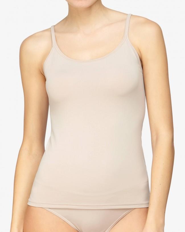 avet-set - Camiseta Avet 70090 en microfibra con tirante estrecho - comprar online en BIGARTE