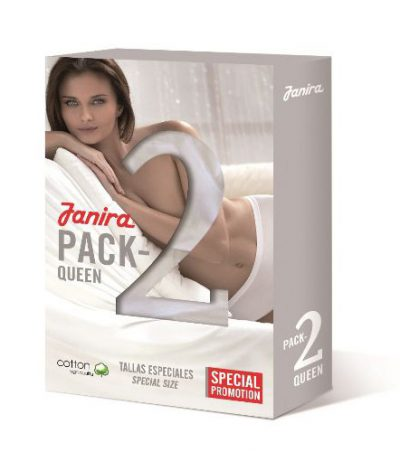 Braga Janira Pack 2 Milano Queen Esencial