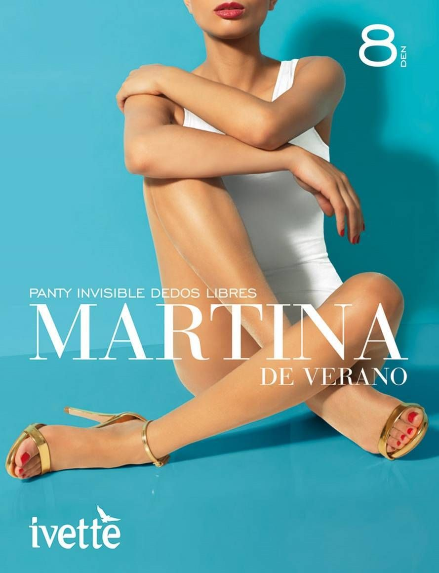 Martina de Verano 7783 Panty dedos libres para sandalias - Co