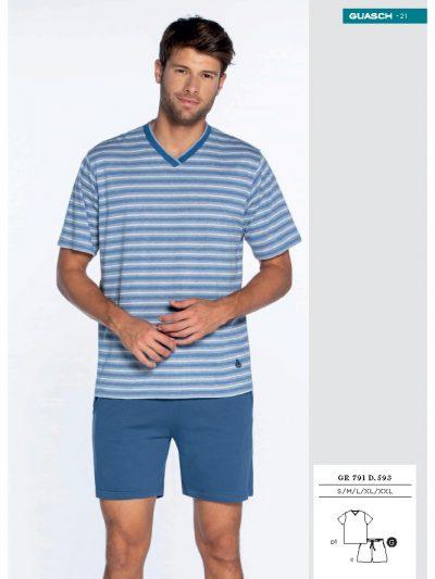 Pijama de hombre corto Guasch GR791 593