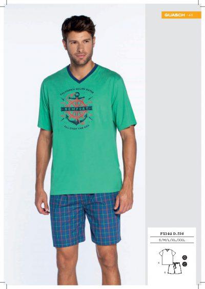 Pijama de hombre de verano Guasch PX142 756 comprar online