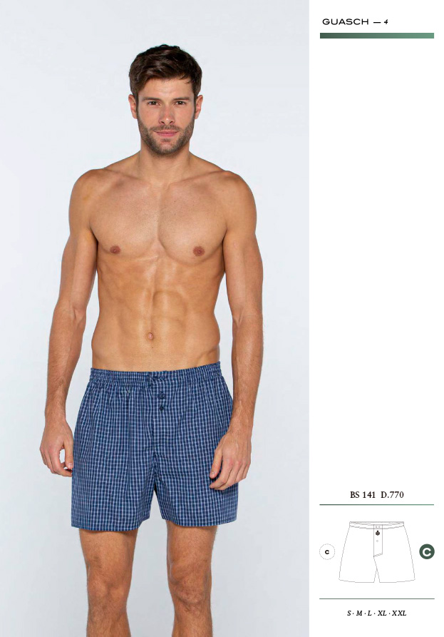 Calzoncillos boxer de tela algodón Guasch BS141 D770 online comprar