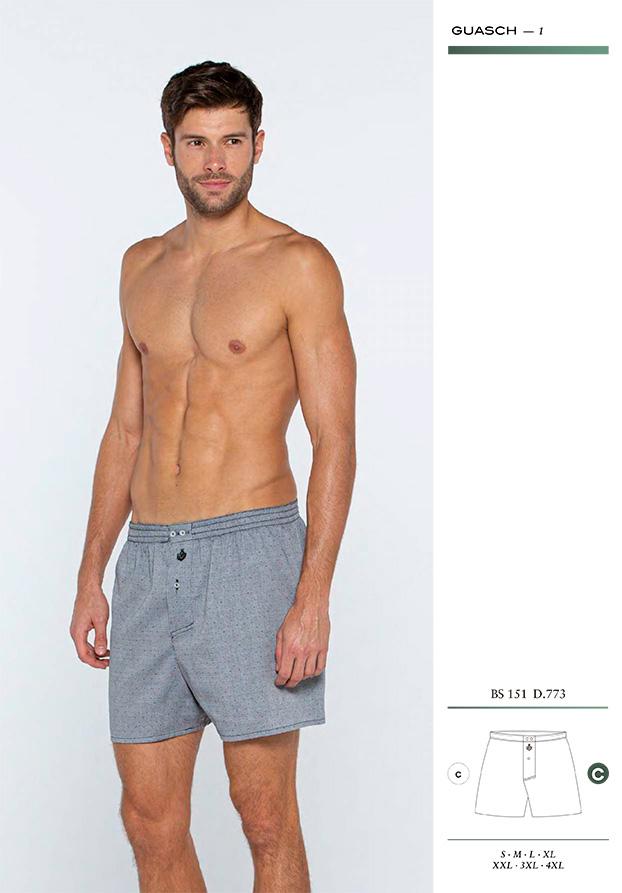 Boxer Guasch tela BS151 D773 para hombre - Textil Guasch comprar online