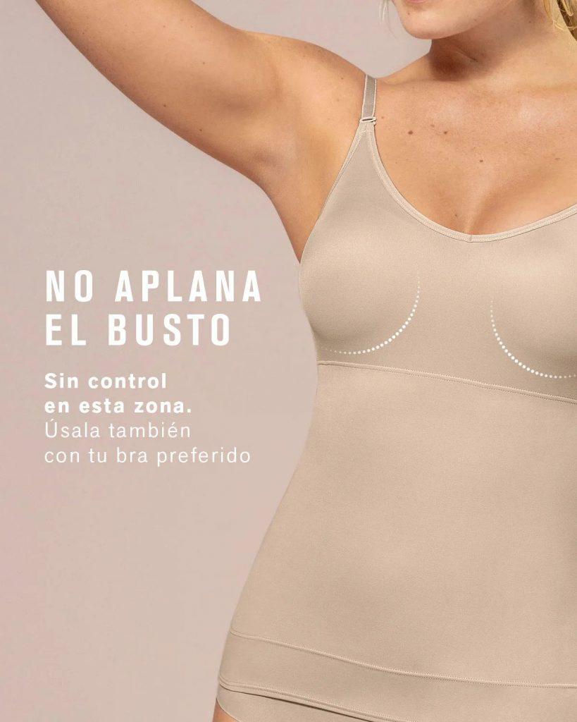 Camiseta Leonisa Afinador de Cintura POWERSLIM DURAFIT 015824 no aplana el busto - comprar online bigarte