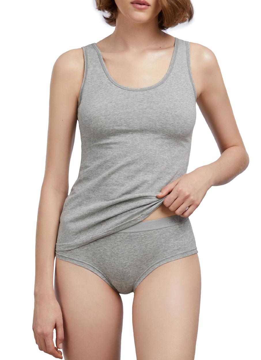 Camiseta Avet Sport de tirantes en algodón - Avet Set shop online en gris y negro