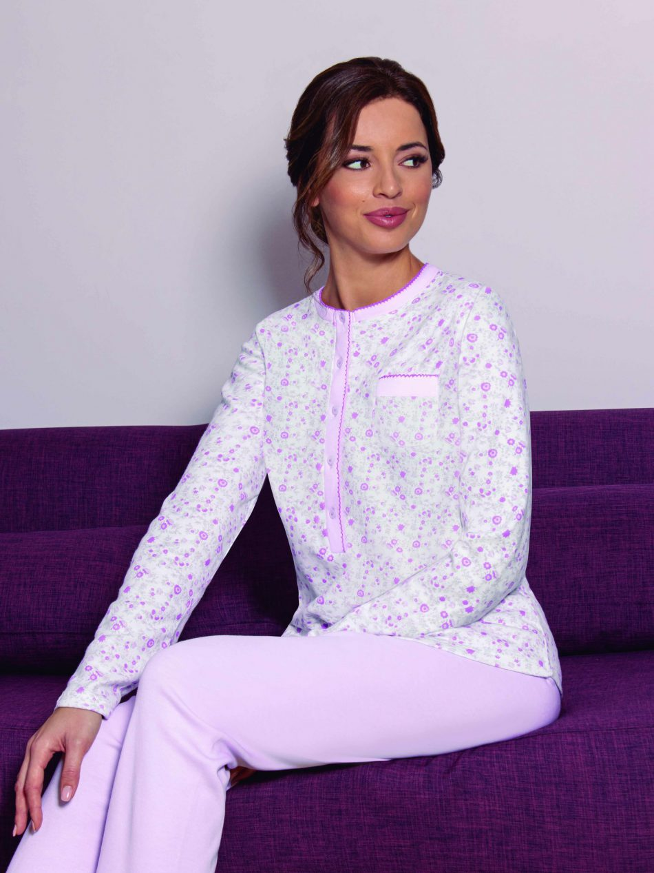 Pijama Mujer Clásico MARIE CLAIRE LUPE 97215 Tapeta comprar online
