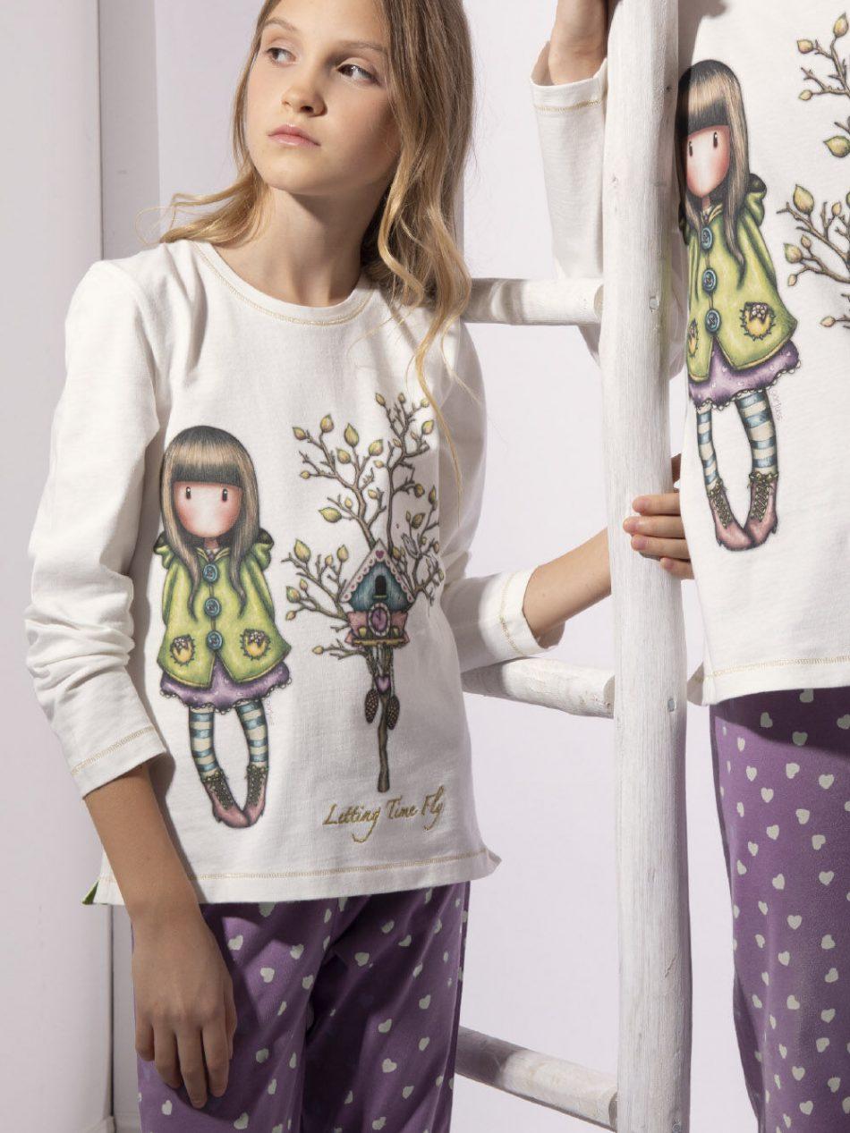 Pijama Niña Santoro LETTING TIME FLU 54491 - Admas comprar online