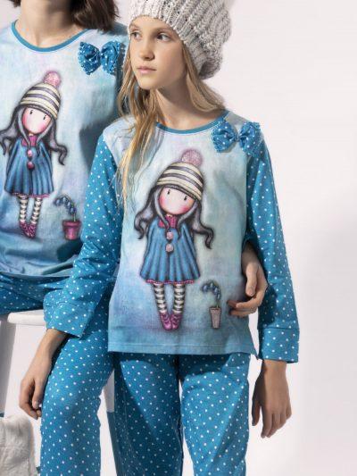 Comprar Online Pijama Santoro niña TWEEN 54497 de invierno