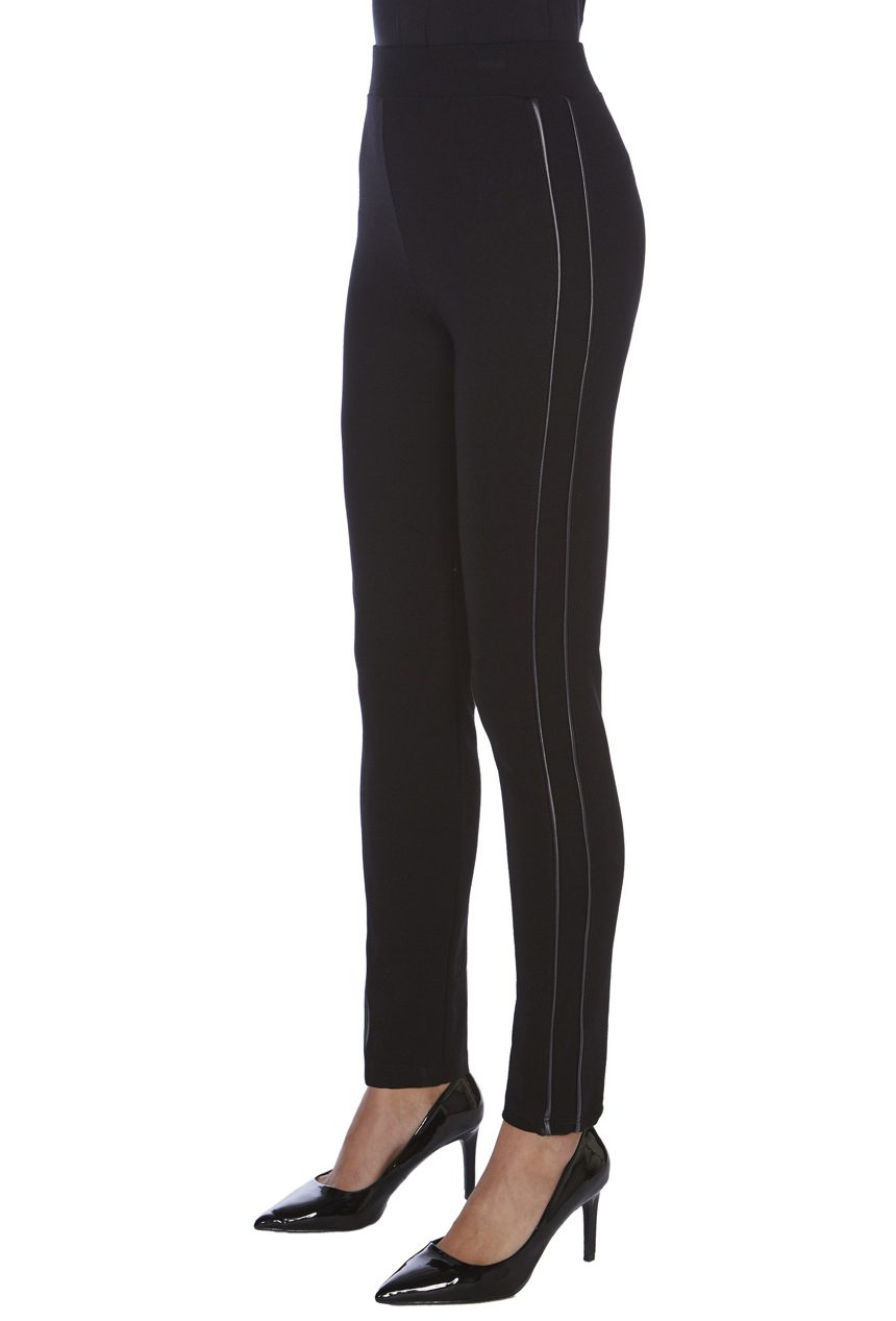 Comprar Legging JANIRA LEATHER SILK 1025233 piel lateral en color negro