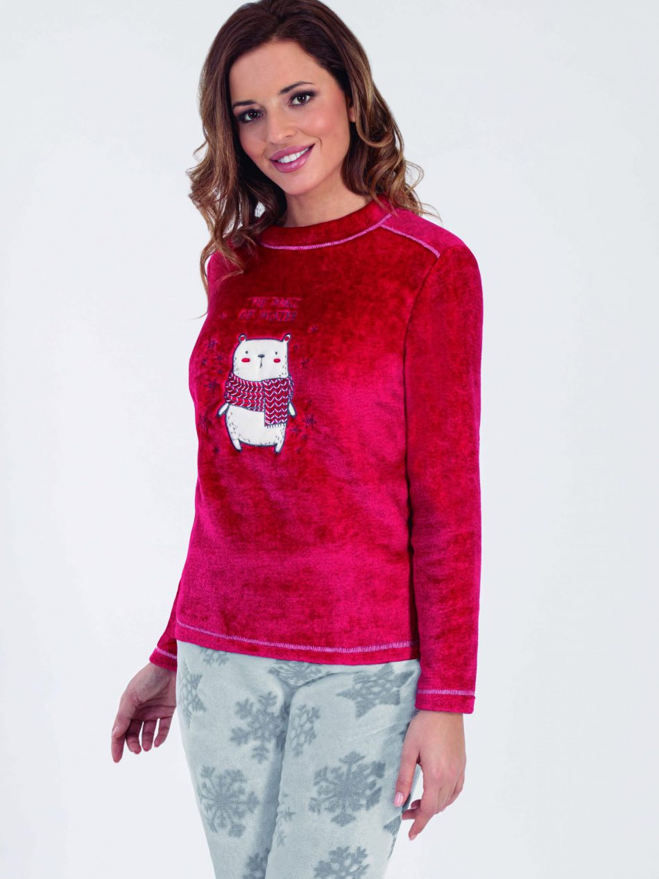 Pijama Mujer Marie Claire 97198 Coralina Invierno Magic Winter Comprar Online