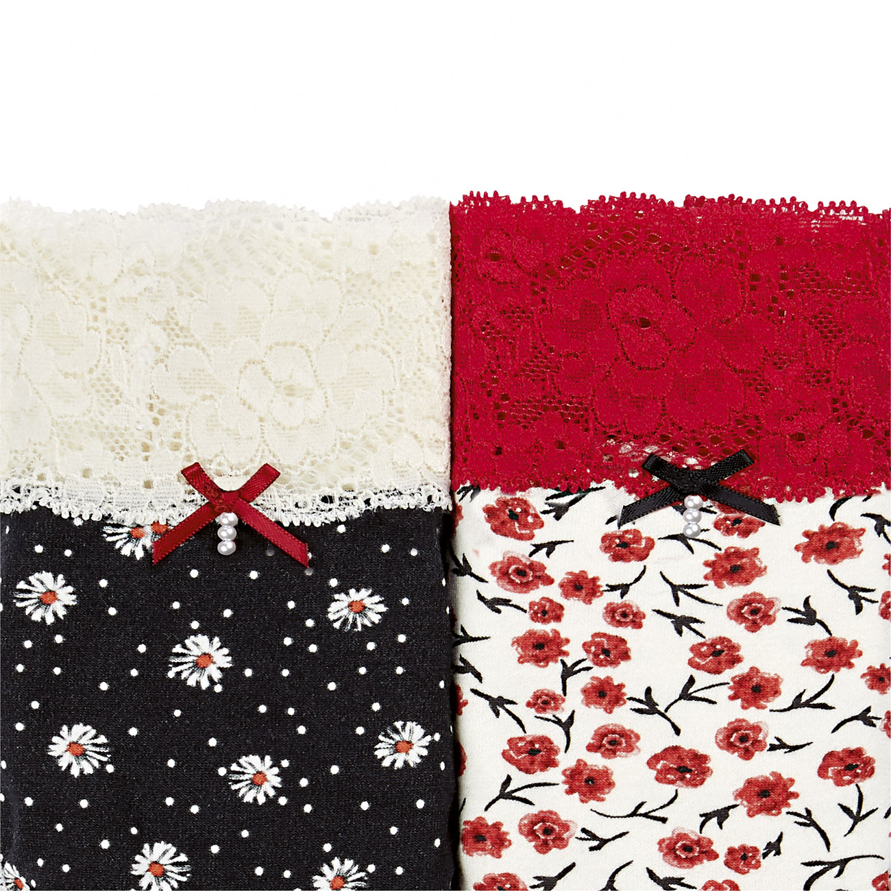 Tangas JANIRA COQUETTES COTTON LACE BLOOMING DAY Comprar Online Bigarte