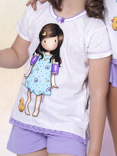 Pijama Santoro Niña Verano TWEEN 54473 - Comprar Online Bigarte