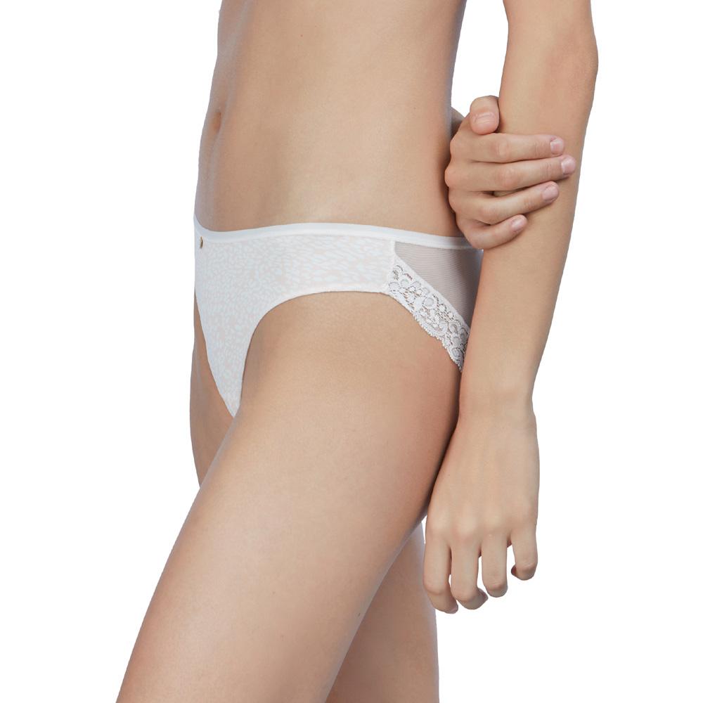 Braguita Bikini AVET 33297 Microfibra Puntilla y Tul - AVET SET - Comprar online BIGARTE SHOP