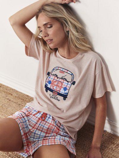 Pijama Chica Verano ADMAS SUMMER FURGO 55126 - Compra online BIGARTE