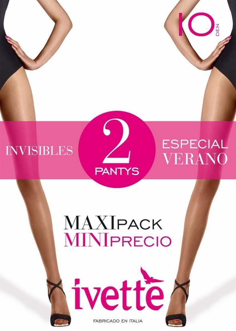 Pack Panty IVETTE 7715 Fino de Verano Puntera Invisible - Comprar online en BIGARTE